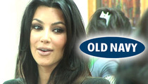 Kim Kardashian Settles Old Navy Look-Alike Lawsuit for Big $$$