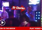 Charles Barkley -- Turrible Karaoke Session ... SAVED By Boyz II Men
