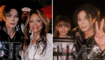 Michael Jackson's Birthday -- La Toya & Paris Jackson ... Party with MJ Impersonator