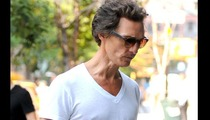 Matthew McConaughey -- Wasting Away ... For New Movie Role