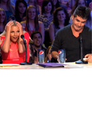 &quot;Oops!&quot; Britney Spears Makes Herself Blush in &quot;X Factor&quot; Promo