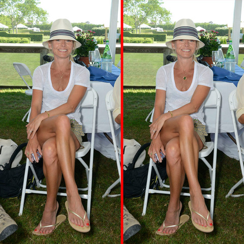 Can you spot the THREE differences in the Kelly Ripa picture?
