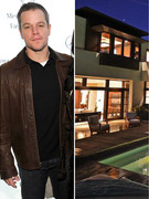 See Matt Damon's Super Posh West Coast Digs!