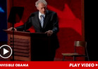 Clint Eastwood -- Bumbles Through Invisible Obama Schtick