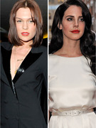 Jessie J &amp; Lana Del Rey Debut Shocking New Looks In London!