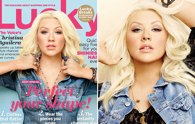 "Christina Aguilera: ""I Love Showing My Cleavage!"""