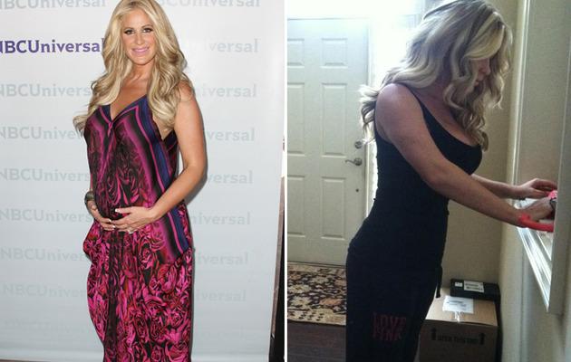 Kim Zolciak: Super Skinny Three Weeks After Giving Birth!