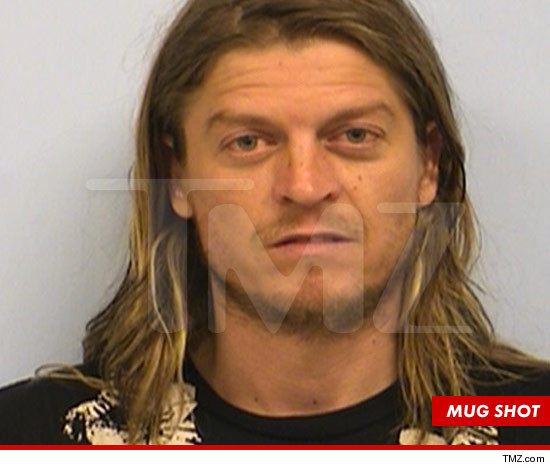 Wes Scantlin -- The Post-Flight Mug Shot