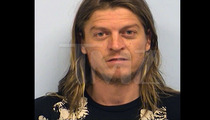Puddle of Mudd Singer Wes Scantlin -- The Post-Flight Mug Shot