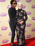 Amber Rose and Wiz Khalifa -- Baby on Board!