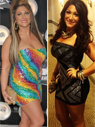 "Wow! Deena from ""Jersey Shore"" Has Huge VMA Makeover!"