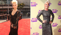 Miley Cyrus & P!nk: Who Had the Better VMA Bouffant?