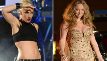 '90s Divas Gwen Stefani and Mariah Carey Stun at NFL Concert