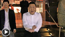 PSY -- 'Gangnam Style' Singer DANCES ON THE STREET!!!!