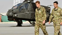 Prince Harry -- Deployed to Afghanistan