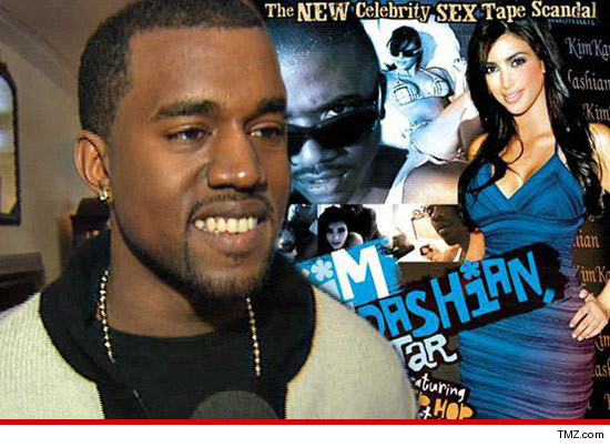 Kanye used the Kim K sex tape in the bedroom to get him in the mood ... and ...