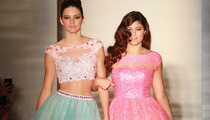 Kendall & Kylie Jenner Hit Runway at New York Fashion Week