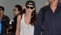 Kristen Stewart Kisses Toronto Goodbye