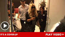 Jessica Simpson -- You Can't See Me Yet!