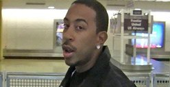 Ludacris Battles Rap Challenger in Airport