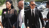 Michael Clarke Duncan Funeral -- Tom Hanks Says Goodbye