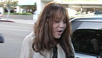 Miley Cyrus Intruder -- Charged with Trespassing & Running from Cops