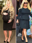 Jessica Simpson Debuts Slim Waistline in New York City