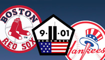 Red Sox -- Emotional 9/11 Tribute Before Yankees Game