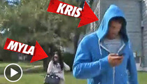 Kris Humphries & Myla Sinanaj -- Walk of Shame!!!