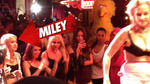 Miley Cyrus -- Front Row for 82-Year-Old Stripper!!