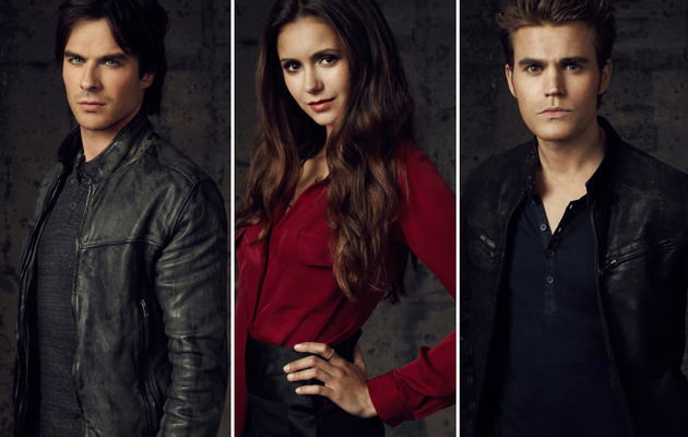 """The Incredibly Photogenic Cast of """"The Vampire Diaires"""""""