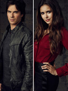 "New Promo Pics: The Incredibly Photogenic Cast of ""The Vampire Diaires"""