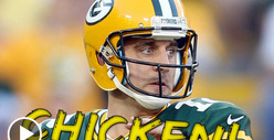 Aaron Rodgers -- Green and Yellow Bellied