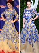 Dueling Dresses: Sharon Osbourne vs. Lily Collins!