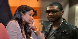 Usher&#039;s Ex-Wife -- Shut Down By Custody Judge -- Again
