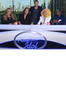 First Photo: See The New &quot;American Idol&quot; Judges at the Table!