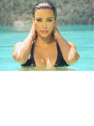 Kim Kardashian Sizzles In Bikini, Shoots In Miami