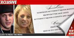 Nicole Richie Wedding Menu -- &#039;Tis the Season