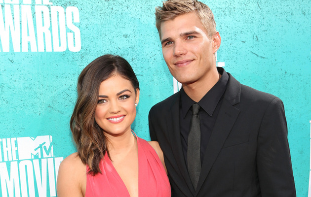 Lucy Hale & Chris Zylka Split -- Chris Disses Lucy on Twitter?
