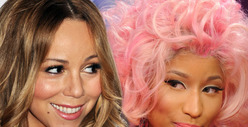 Mariah Carey &amp; Nicki Minaj CALL A TRUCE on &#039;American Idol&#039; 