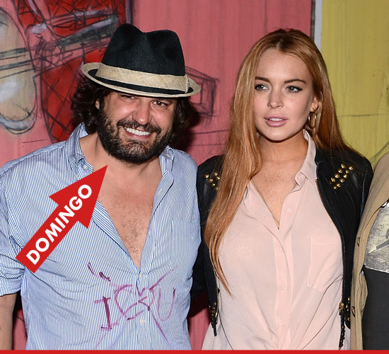 0919_domingo_zapata_lindsay_lohan_getty