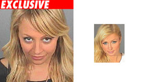 Nicole Richie Mugshot -- Paris-esque