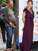 Uma Thurman Shows Off Her Post-Pregnancy Bod!