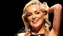 Sharon Stone -- Hospitalized In Italy