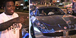 Sean Kingston -- Justin Bieber GAVE ME His Chrome Fisker Karma