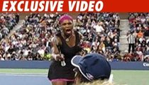 Serena Williams -- Face of Anger