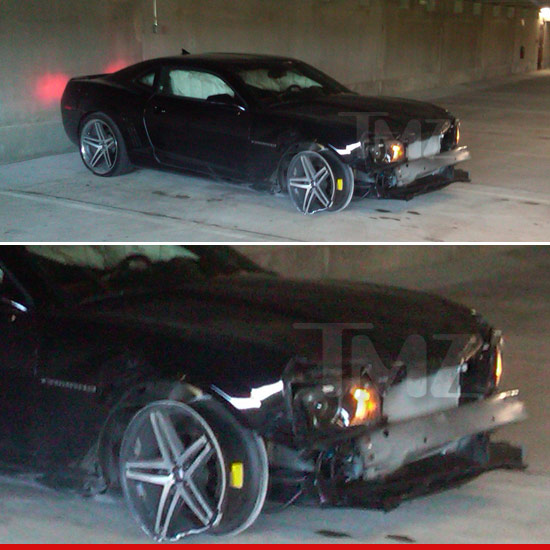 Bobbi Kristina's Car Accident