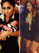 Snooki Shows Off Slim Figure, New Baby Lorenzo Pics!