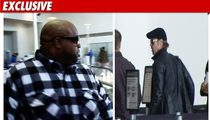 Cee Lo Grabs TMZ Camera -- Shoots Brad Pitt