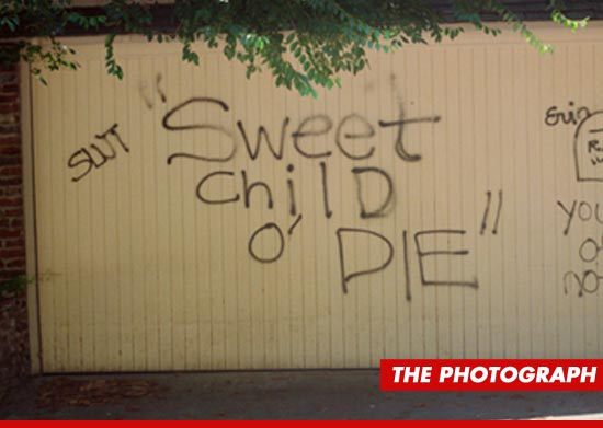 The photo of the garage. Image from http://www.tmz.com/2012/09/27/axl-rose-cease-and-desist-letter-photograph-art-exhibit/